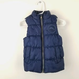 Tommy Bahama Blue Puffer Vest